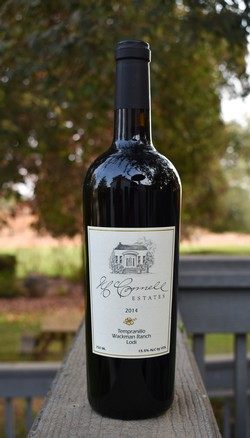 Mcconnell Estates Winery Products 2014 Tempranillo