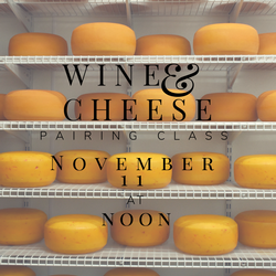 WC Wine & Cheese Class